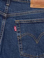 LEVI´S Women - 501 CROP CHARLESTON PRESSED - straight jeans - dark indigo - flat finish - 4