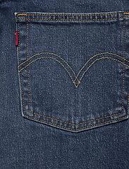 LEVI´S Women - 501 CROP CHARLESTON OUTLASTED - straight regular - dark indigo - worn in - 4