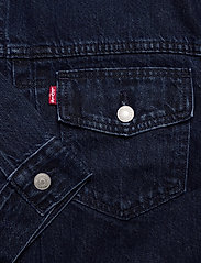 LEVI´S Women - NEW HERITAGE TRUCKER EXACT CHA - denimjakker - dark indigo - flat finish - 3