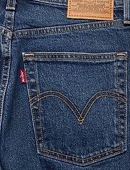 LEVI´S Women - RIBCAGE BOOT TURN UP - schlaghosen - med indigo - worn in - 4
