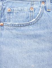 LEVI´S Women - 501 ORIGINAL SHORT LUXOR HEAT - denimshorts - light indigo - worn in - 2
