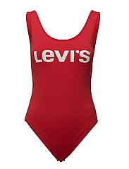 GRAPHIC BODYSUIT RED BODYSUIT - RED BODYSUIT CHIN