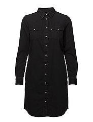 ULTIMATE WESTERN DRESS SHINY H - BLACKS