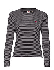 LS BABY TEE AGNES STRIPE FORGE - NEUTRALS