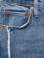 LEVI´S Women - RIBCAGE STRAIGHT ANKLE ON THE - straight jeans - med indigo - worn in - 4