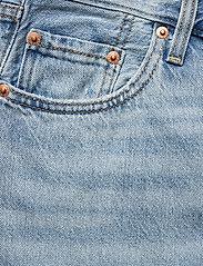 LEVI´S Women - RIBCAGE STRAIGHT ANKLE MIDDLE - broeken met wijde pijpen - light indigo - worn in - 2