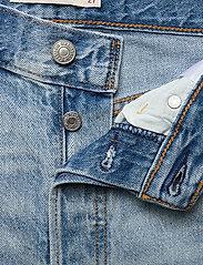 LEVI´S Women - RIBCAGE STRAIGHT ANKLE MIDDLE - broeken met wijde pijpen - light indigo - worn in - 3