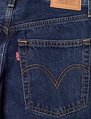 LEVI´S Women - RIBCAGE STRAIGHT ANKLE NOE DAR - brede jeans - dark indigo - flat finish - 4