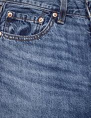 LEVI´S Women - RIBCAGE STRAIGHT ANKLE NOE FOG - brede jeans - dark indigo - worn in - 2