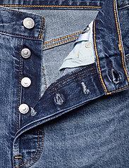 LEVI´S Women - RIBCAGE STRAIGHT ANKLE NOE FOG - brede jeans - dark indigo - worn in - 3