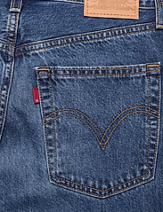 LEVI´S Women - RIBCAGE STRAIGHT ANKLE NOE FOG - brede jeans - dark indigo - worn in - 4