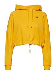 CINCHED HOODIE SOLAR POWER - YELLOWS/ORANGES