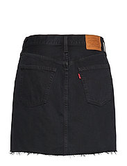 LEVI´S Women - HR DECON ICONIC BF SKIRT LEFT - denimskjørt - blacks - 1