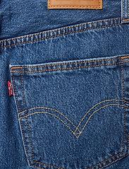 LEVI´S Women - HR DECON ICNIC BFLY SKRT MEET - korte nederdele - med indigo - flat finish - 4