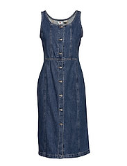 SIENNA DRESS OUT OF THE BLUE ( - MED INDIGO - WORN IN