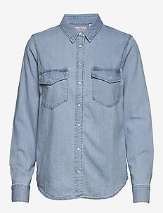 ESSENTIAL WESTERN COOL OUT (2) - denimskjorter - blues