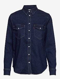 ESSENTIAL WESTERN SUPERNATURAL - denimskjorter - blacks