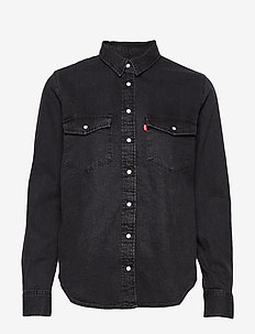 ESSENTIAL WESTERN BLACK SHEEP - denimskjorter - blacks