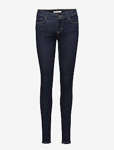 INNOVATION SUPER SKINNY HIGH S - MED INDIGO - WORN IN