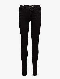 INNOVATION SUPER SKINNY BLACK - jeans skinny - black galaxy