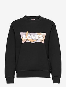 GRAPHIC STANDARD CREW CREW BAT - sweatshirts & hættetrøjer - blacks