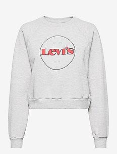 VINTAGE RAGLAN CREW CREW CIRCL - sweatshirts & hættetrøjer - greys