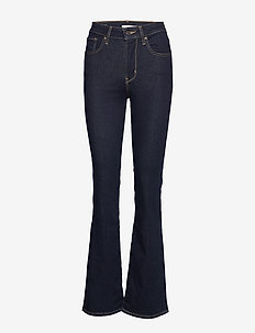 725 HIGH RISE BOOTCUT TO THE N - flared jeans - dark indigo - flat finish