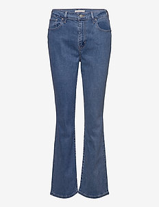 725 HIGH RISE BOOTCUT RIO AIR - uitlopende jeans - med indigo - flat finish