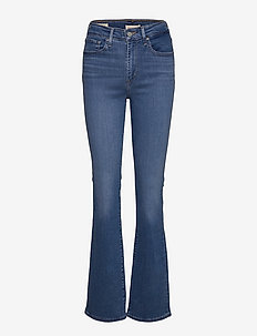 725 HIGH RISE BOOTCUT RIO RAVE - bootcut jeans - med indigo - worn in
