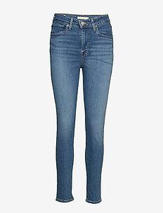 721 HIGH RISE SKINNY LOS ANGEL - dżinsy skinny fit - light indigo - worn in