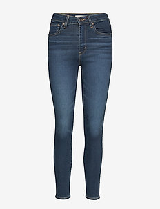 721 HIGH RISE SKINNY LONDON NI - DARK INDIGO - WORN IN