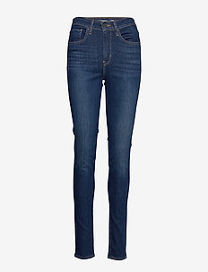721 HIGH RISE SKINNY OUT ON A - skinny jeans - dark indigo - worn in