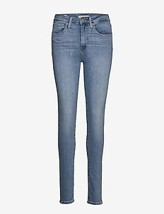 721 HIGH RISE SKINNY HAVE A NI - skinny jeans - light indigo - worn in
