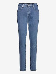 721 HIGH RISE SKINNY BOGOTA LI - jeans skinny - dark indigo - flat finish