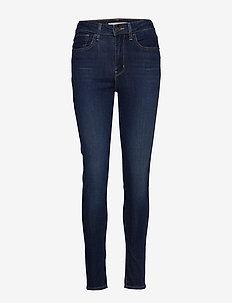 721 HIGH RISE SKINNY BOGOTA FE - skinny jeans - dark indigo - flat finish