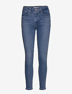 721 HIGH RISE SKINNY RIO HUSTL - skinny jeans - light indigo - worn in
