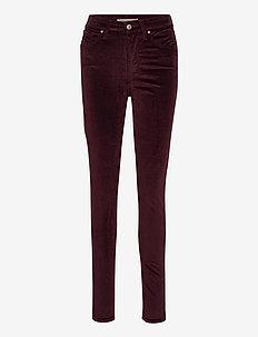 721 HIGH RISE SKINNY COMFORT V - skinny jeans - reds