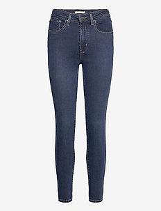 721 HIGH RISE SKINNY SANTIAGO - skinny jeans - dark indigo - worn in