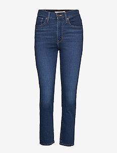 724 HIGH RISE STRAIGHT LONDON - proste dżinsy - dark indigo - worn in