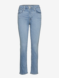 724 HIGH RISE STRAIGHT SAN FRA - slim jeans - light indigo - worn in