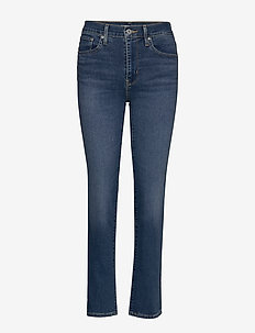 724 HIGH RISE STRAIGHT BOGOTA - straight jeans - med indigo - flat finish
