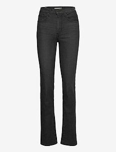 724 HIGH RISE STRAIGHT BLACK C - jeans droites - blacks