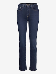 724 HIGH RISE STRAIGHT BOGOTA - straight jeans - dark indigo - flat finish