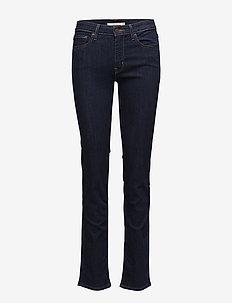 712 SLIM LONE WOLF - slim jeans - dark indigo - flat finish