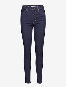 MILE HIGH SUPER SKINNY CELESTI - jeans skinny - dark indigo - flat finish