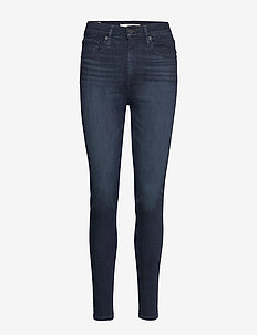 MILE HIGH SUPER SKINNY ECHO DA - skinny jeans - blacks