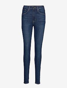 MILE HIGH SUPER SKINNY CATCH M - skinny jeans - dark indigo - worn in