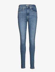 MILE HIGH SUPER SKINNY BETTER - skinny jeans - med indigo - worn in