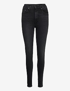 MILE HIGH SUPER SKINNY BLACK H - skinny jeans - blacks