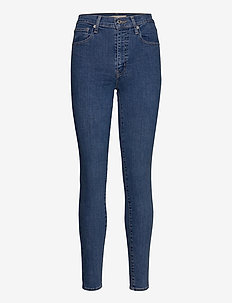 MILE HIGH SUPER SKINNY GALAXY - skinny jeans - med indigo - flat finish